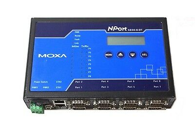 Moxa NPort 5650-8-DT Desktop 8-Port Serial Device Server