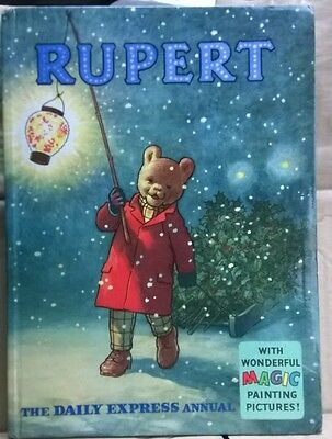 RUPERT ORIGINAL ANNUAL 1960 Not inscribed Not Price Clipped VG+