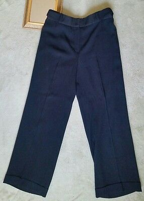 AK Anne Klein Black Dress Pants Slacks Work Career Women's Sz 8