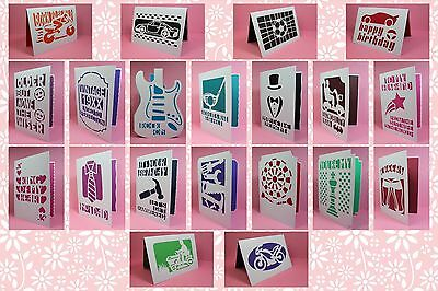 Brother ScanNCut Cards & Toppers for Men templates CD1074