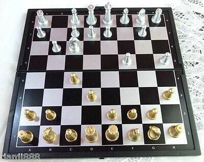 Portable Chess (Magnetic Folding Board - 20 cm)