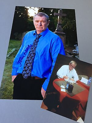 JOHN NETTLES 'Inspector Barnaby' In-person signed Photo 20x30 inkl. Eigen-Photo
