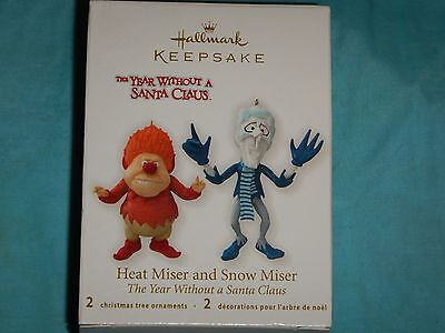 MAKE OFFER.......Hallmark Ornament Heat Miser Snow Miser...MIB.......BEST OFFER