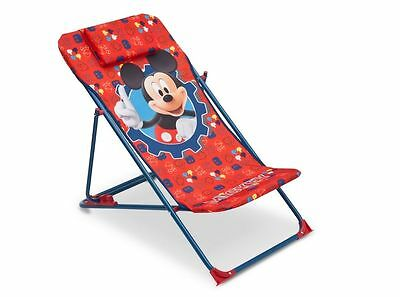 Mickey Mouse Beach Chair, Disney Kids Chair, Outdoor Kids Character Chair