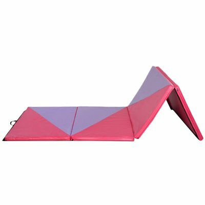 NEW Folding Gymnastics Gym Training 220*10*6.35CMt Pink Balance Beam Yoga Mat SY