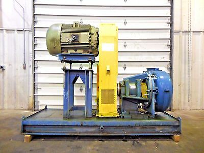 "RX-3596, METSO MM250 FHC-D 10"" x 8"" SLURRY PUMP W/ 100HP MOTOR AND FRAME"