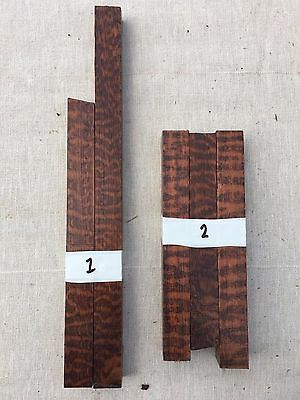 Snakewood pen blank sets / small turning blanks various grades
