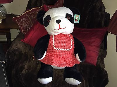 "Rare Htf Large 24"" Sue Soft Toy Plush With Tags Vgcc Sooty Sweep"