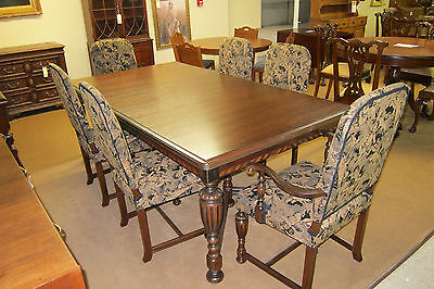 Antique 1910  Berkey & Gay 7-PC. dining Room Suite