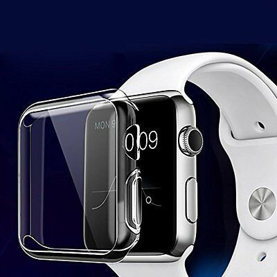 Screen Protector For Apple Watch 38mm Ultra-thin 0.3mm HD Clear TPU