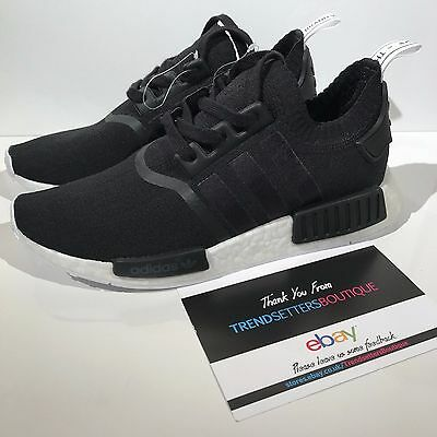 e40a86556 Adidas Nmd R1 Pk Rare Sample Uk 8.5 Us 9 42 43 Primeknit Monochrome Og Black