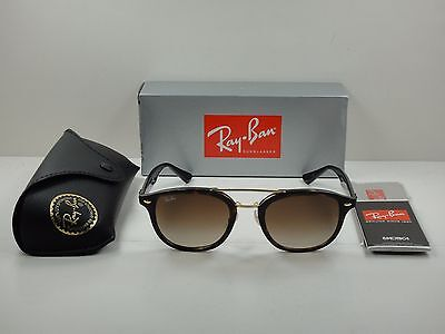 3862be2218e Authentic Ray-Ban Sunglasses Rb2183 122513 Tortoise brown Gradient Lens 53Mm