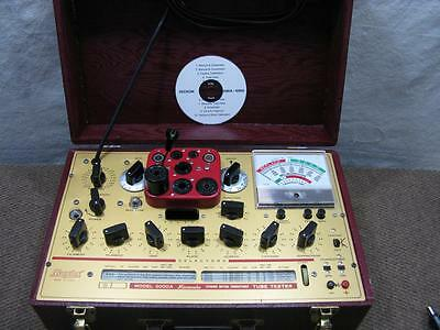 Hickok 6000A Mutual Conductance Tube Tester - Calibrated - Ready to Use