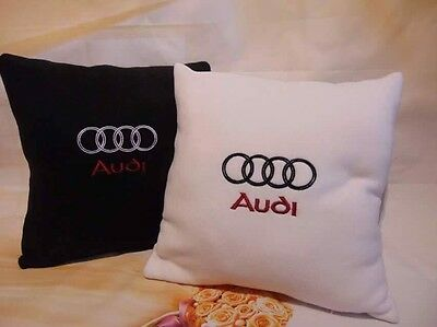 Audi Embroidered 2x Pillows Gift For Him