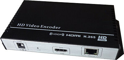 MPEG-4 AVC/H.265 HD HDMI Encoder for IPTV, Live Streaming Broadcast, HDMI Video