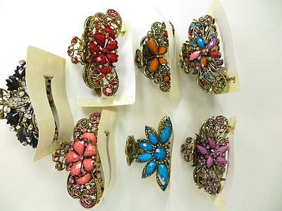 US Seller-wholesale lot 12 pcs vintage retro hair claws clips