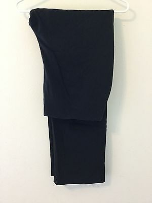 Women's Croft & Barrow Dress Pants Stretch Size 16T Black
