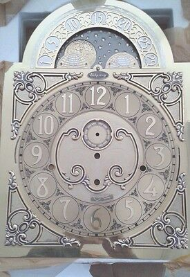 Ridgeway  Grandfather clock dial for Kieninger RSU-KSU-HSU movement 320x320x440