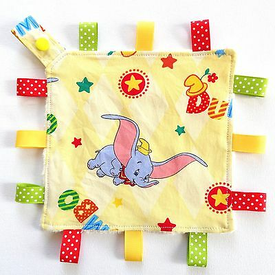 Dumbo Mini Size TaGgie Security Cuddle Blanket Toy Baby Comforter dummy holder