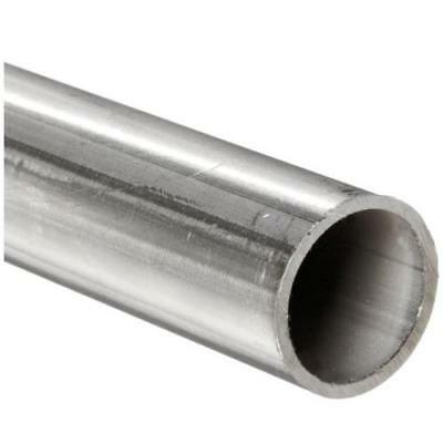 """Stainless Steel 304L Welded Round Tubing, 1-1/2"""" OD, 1.37"""" ID, 0.065"""" Wall, 12"""""""