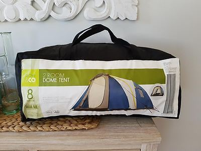 Camping 2 Room Dome Tent