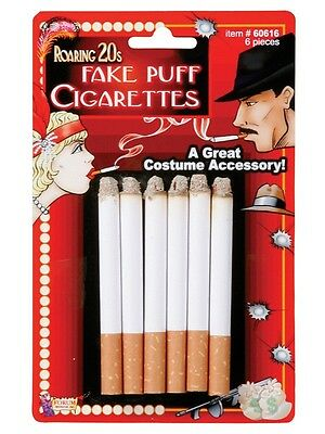 Roaring 20s Gangster Flapper Fake Puff Lit Cigarettes