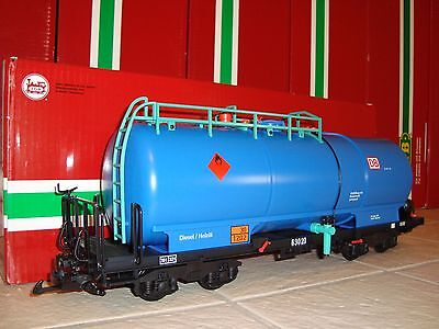 Lgb 41834 Blue Wangerooge Db 4-Axle Tanker Tank Car Brand New In Original Box!