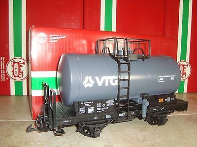 Lgb 41403 Black Vtg 2-Axle Tanker Tank Car Brand New In Original Box! Rare!!