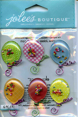 "Jolee's Boutique ""BALLOONS"" Dimensional Scrapbooking Stickers - P40"