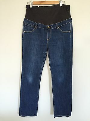 Maternity Jeans Slim Straight Size 12
