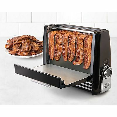 Nostalgia Electrics Bacon Express in Black, A Healthier Way to Cook Bacon (120V)