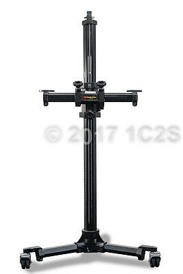 STUDIO TITAN CAMERA STAND 5-foot Pro Photography w/Single-Wheels - Tripod Tether