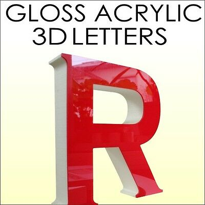 Shop Sign 3D Letters Letter Outdoor Fascia Free Artwork Acrylic