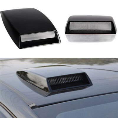 Universal Car decorative Air Flow Intake Scoop Turbo Bonnet Vent Cover Hood
