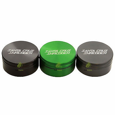 Santa Cruz 2pc Shredder - Small Herb Grinder Muller Crusher