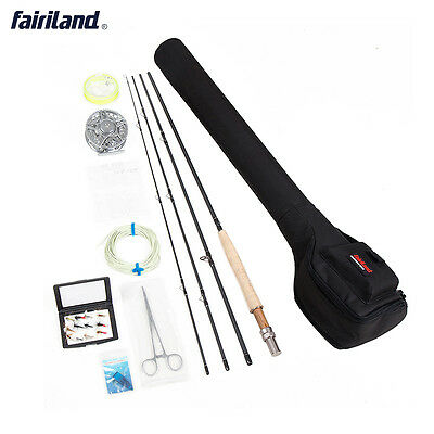 Fly Fishing kit 5/6 Starter Package including fly fishing rod, reel, line combos
