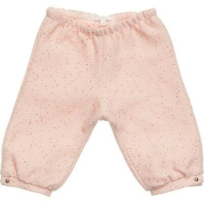 Chloe Baby Pink Boucle Trousers 2 Years