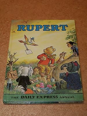 Rupert Bear - The Daily Express Annual - 1972 - Price Unclipped