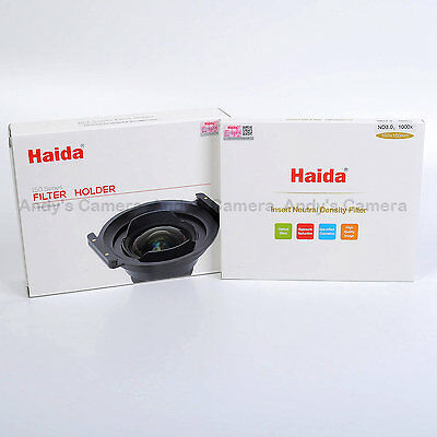Haida 150mm Filter Kit for Tamron 15-30mm 2.8 Lens, Holder + ND3.0 1000x Filter