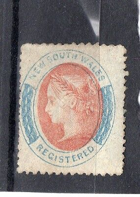 New South Wales SG127 1860-3 6d fine lightly mm cat £275