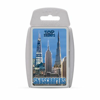SKYSCRAPERS | Top Trumps Card Games Trump Cards Family Travel Fun Game