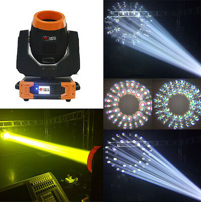 7R Sharpy 230W Moving Head Beam Light 3in1 24+8prism DJ disco Christmas lighting