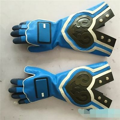 2017 Overwatch Mei Cosplay Costume Blue Gloves Only