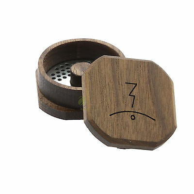 MFLB Finishing Grinder - Magic Flight Wooden Herb Grinder Muller Crusher