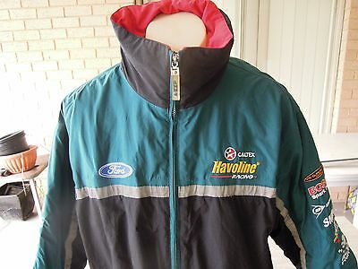 Stone Bros Racing Sbr V8 Supercars Jacket With Vest Sized Xl