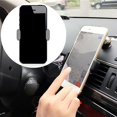360 Rotating Universal Mobile Phone In Car Air Vent Mount Holder Stand Cradle UK