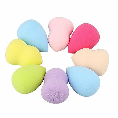 4PCS Professional Makeup Sponge Blender Foundation Puff Flawless Powder Beauty