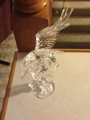 Eagle Flying Icy Craft Acrylic figure
