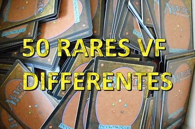 Magic lot 50 RARES toutes éditions VF ★ Magic MTG Symbole doré