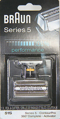 Braun Series 5 51S Replacement part (Silver) TAX INCLUDED